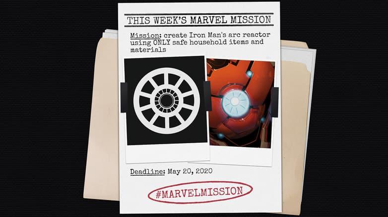 Marvel Mission Recap: Iron Man`s Arc Reactor