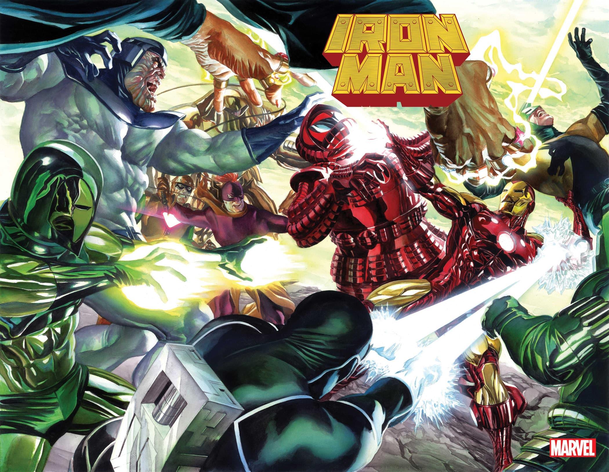 Iron Man #1 cover