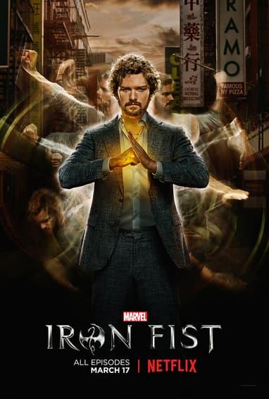 Marvel's Iron Fist Season 1 TV Show Poster