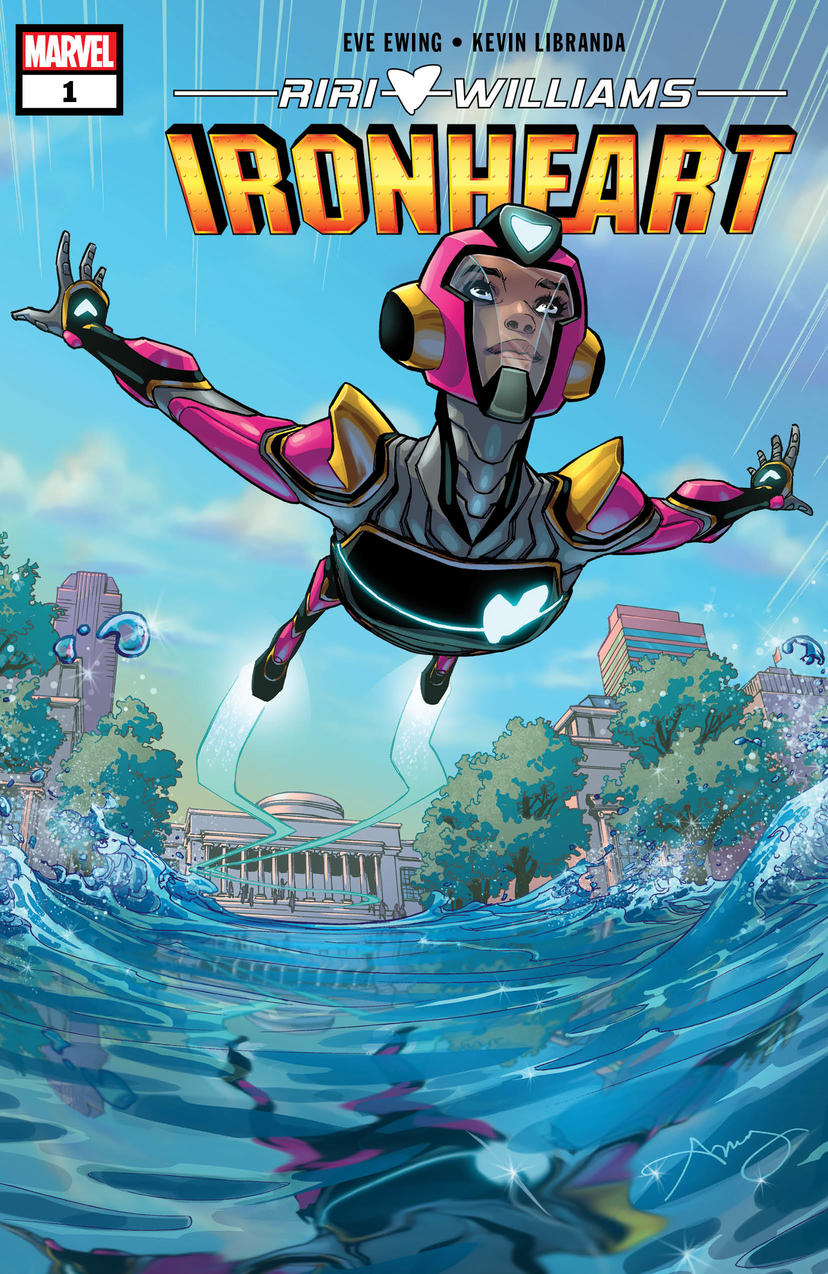 Cover of Ironheart #1