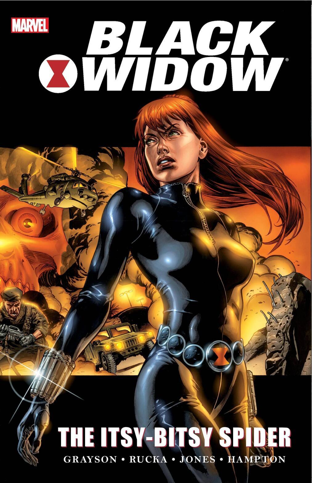 Cover to BLACK WIDOW: THE ITSY-BITSY SPIDER.