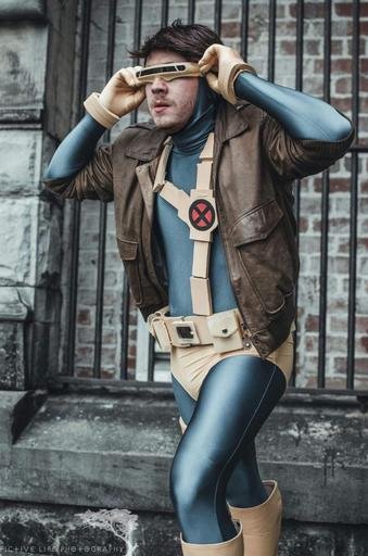 James Cooper as Cyclops