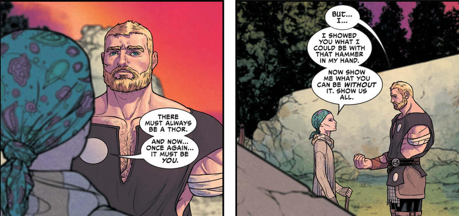 Jane Foster and Odinson