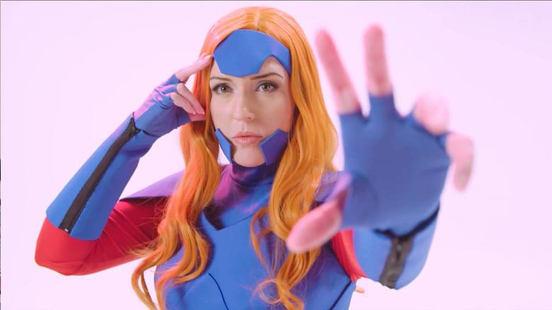 Cosplayer Indra Rojas Marvel Becoming Jean Grey
