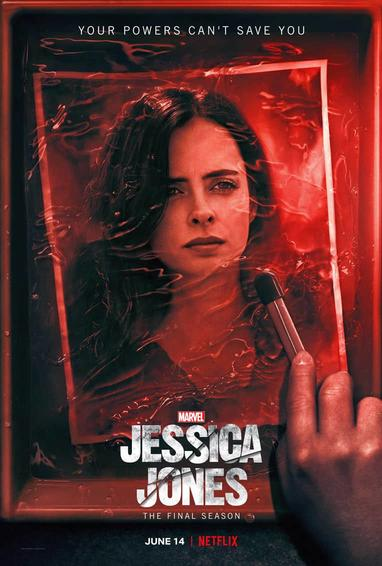Marvel's Jessica Jones | Season 3 TV Show Poster