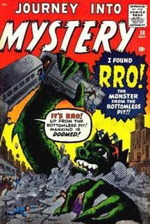 JOURNEY INTO MYSTERY #58 (1960)