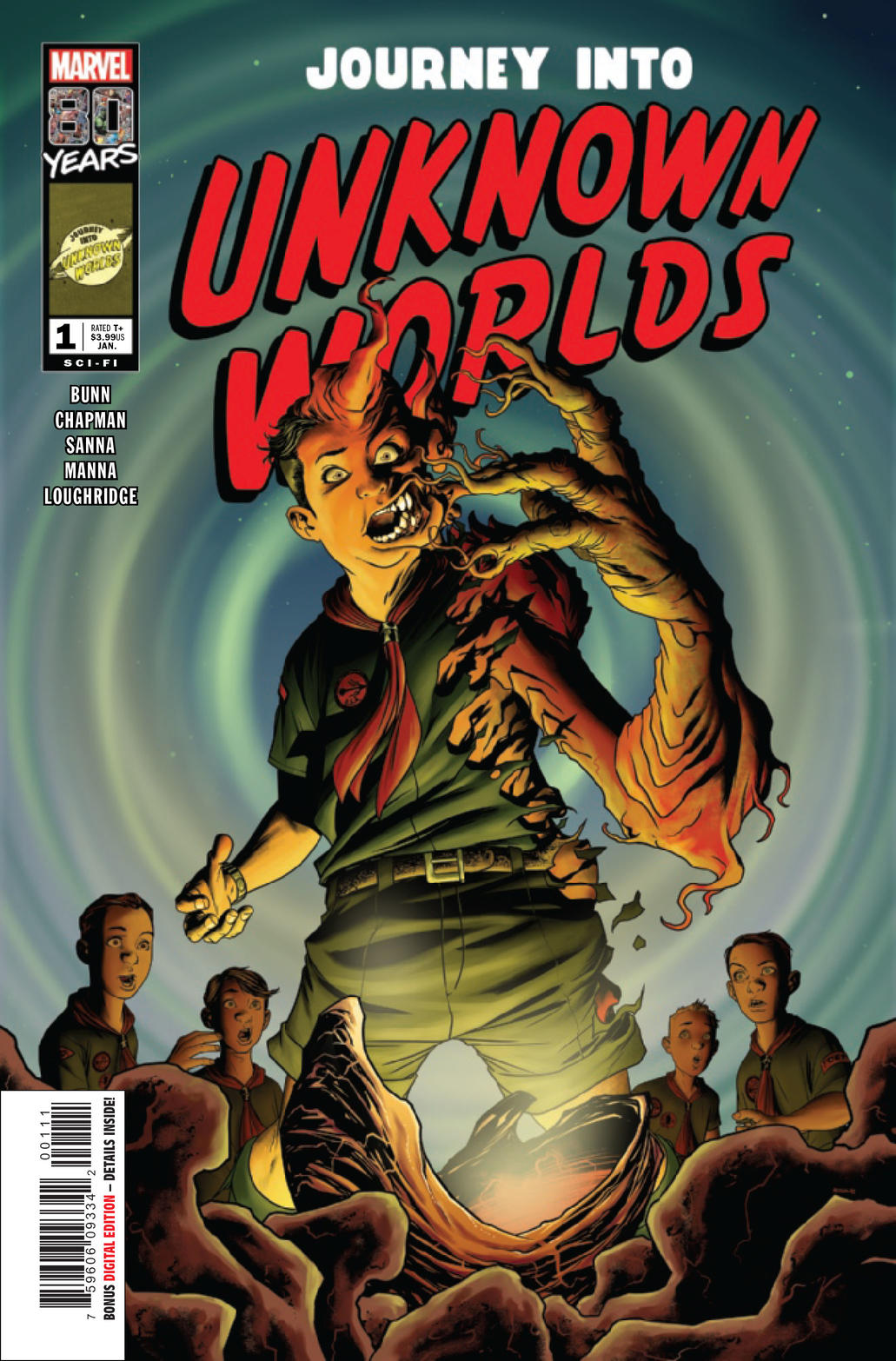 Cover of Journey Into Unknown Worlds
