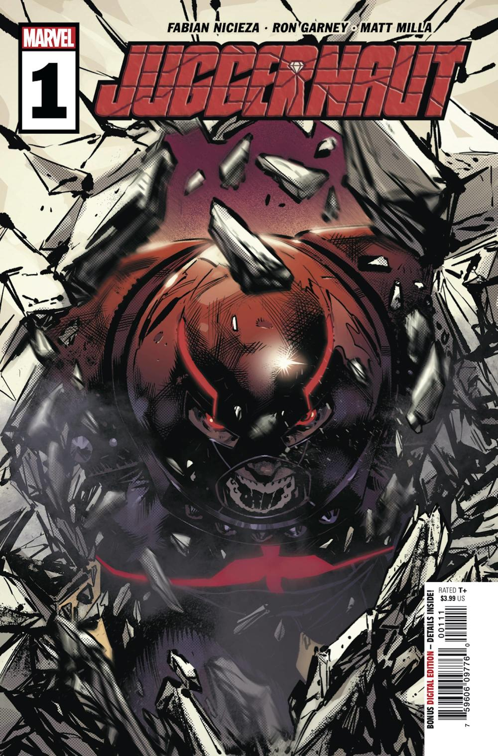 JUGGERNAUT #1 cover by Geoff Shaw and Matt Milla