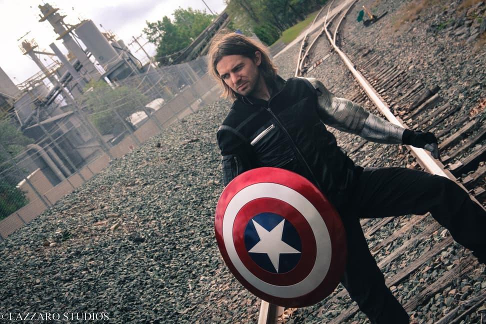 Justin Aucoin as Bucky Barnes