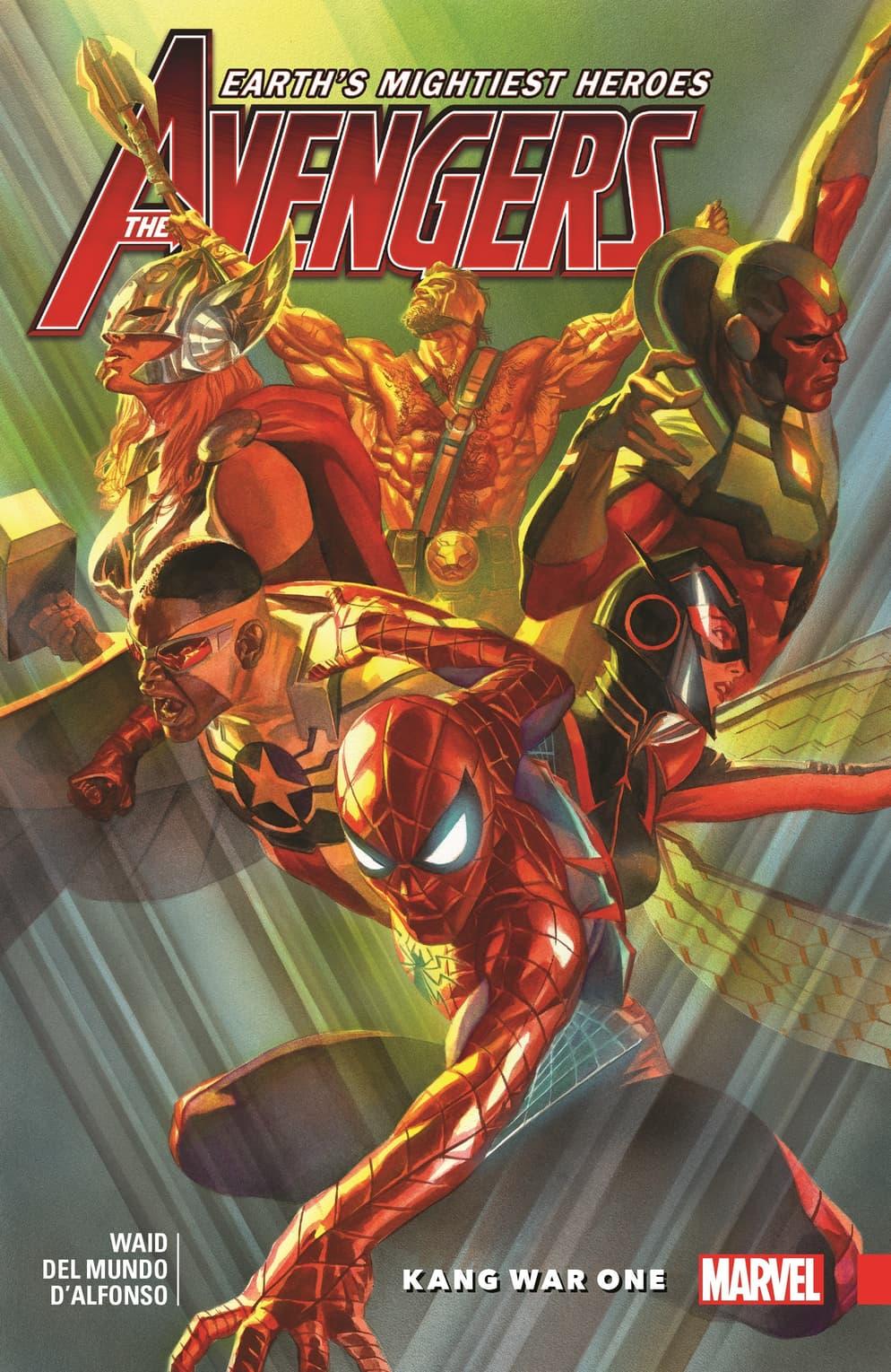 The Avengers versus Kang.