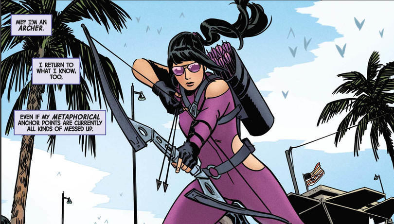 Kate Bishop aka Hawkeye