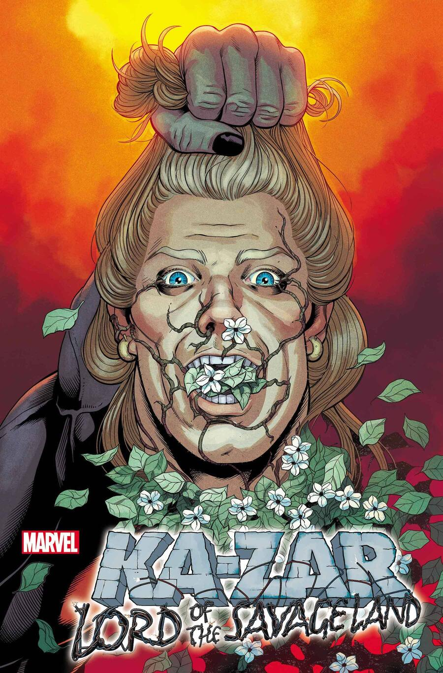 KA-ZAR: LORD OF THE SAVAGE LAND #1 variant cover by Juann Cabal