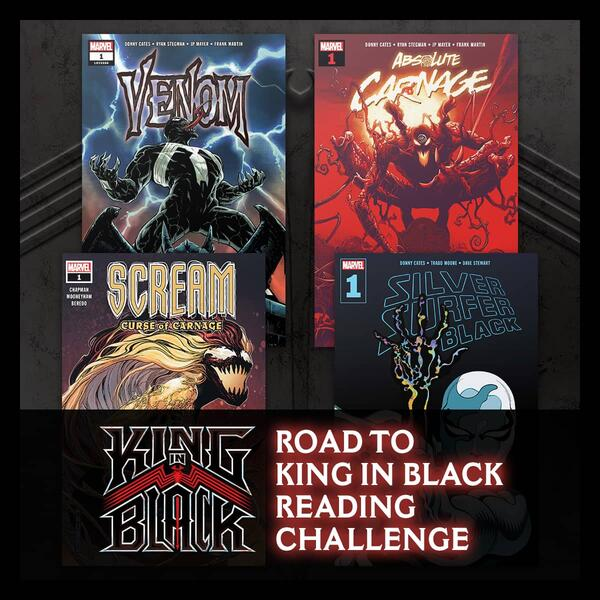 Marvel Insider Activity THE ROAD TO KING IN BLACK READING CHALLENGE Read these issues on Marvel Unlimited!