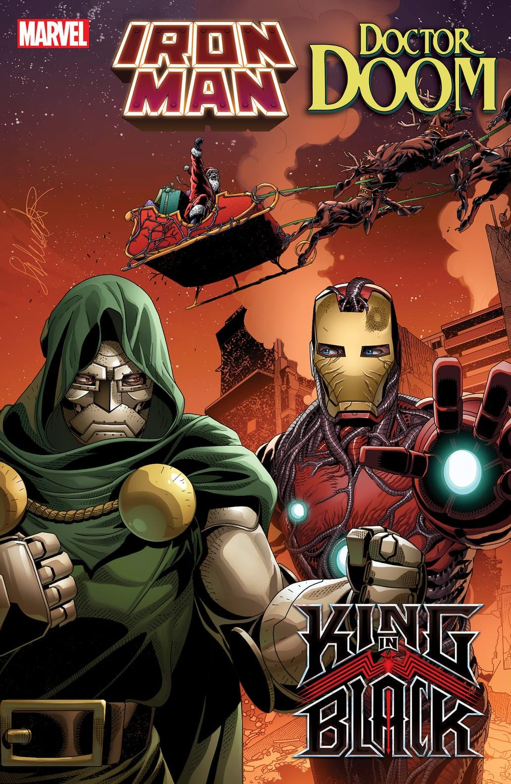 King in Black Iron Man Doctor Doom