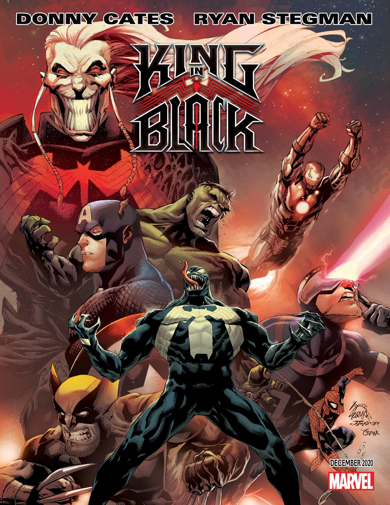 KING IN BLACK #1 WRITTEN BY DONNY CATES, ART BY RYAN STEGMAN