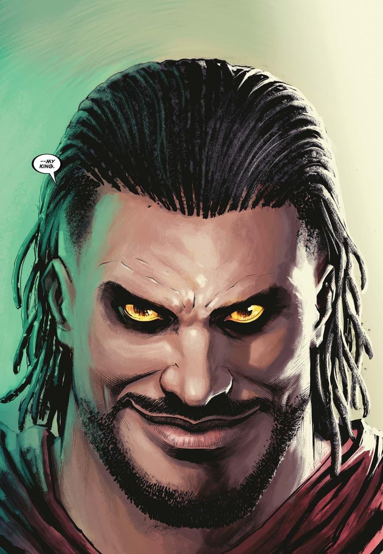 Killmonger seeks revenge in KILLMONGER (2018) #5.
