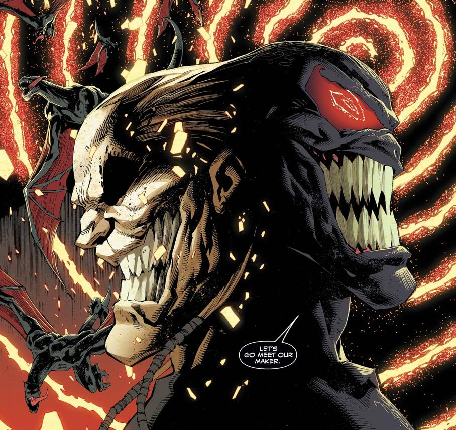 Venom's bond with Knull revealed.