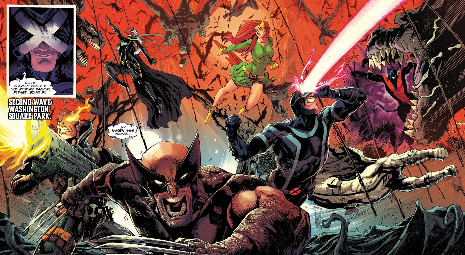 The X-Men enter the King in Black!