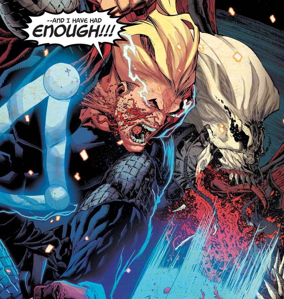 Thor versus Knull!