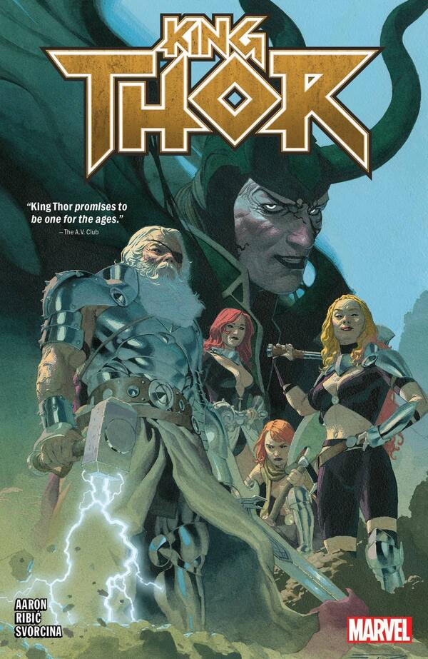 Cover to KING THOR.
