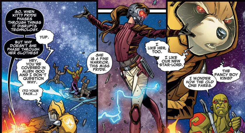 Kitty Pryde as Star-Lord