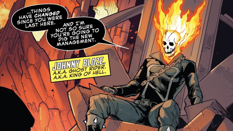 How Johnny Blaze Became the King of Hell | News | Marvel