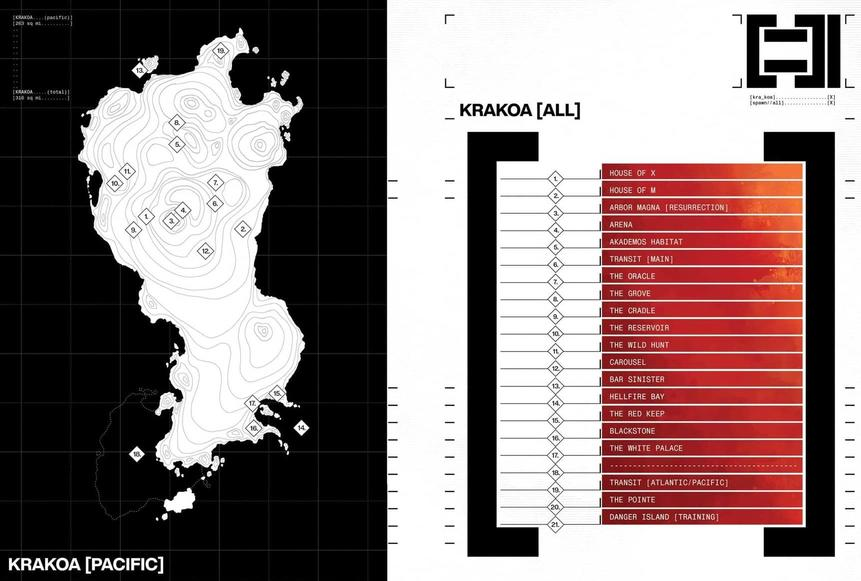 Krakoan Map