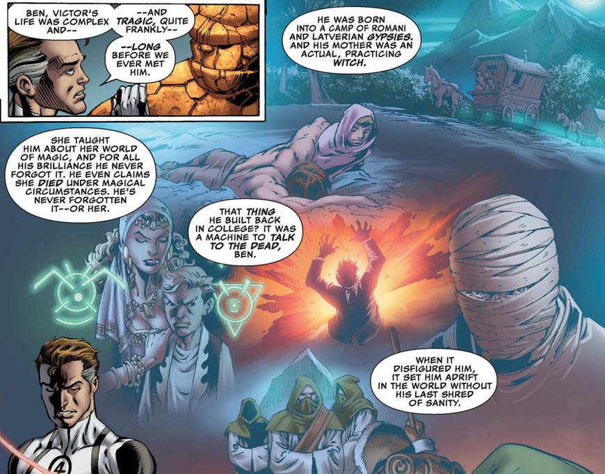 Doom's beginnings in Latveria