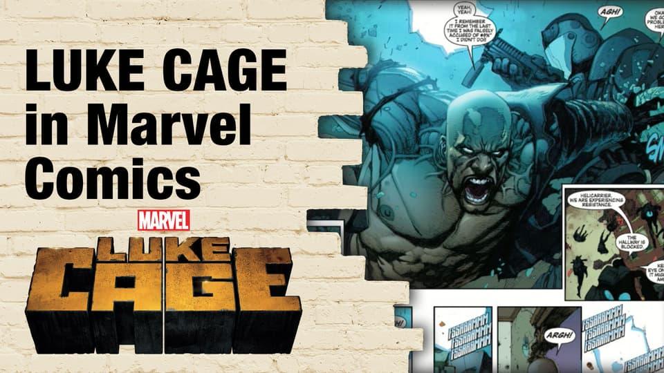 Luke Cage comics