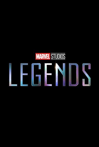 Marvel Studios: Legends Disney Plus TV Show Logo on Black
