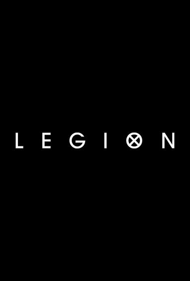 Legion TV Show Season 3 Logo on Black