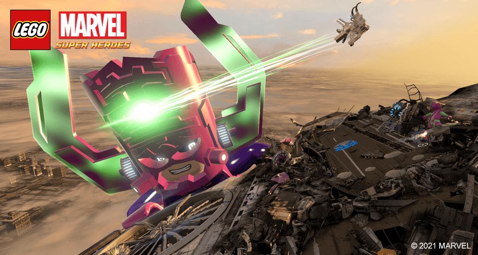 LEGO Galactus strikes!