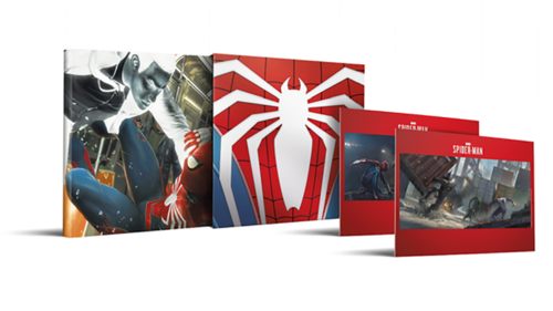Marvel's Spider-Man: The Art of the Game Limited Edition