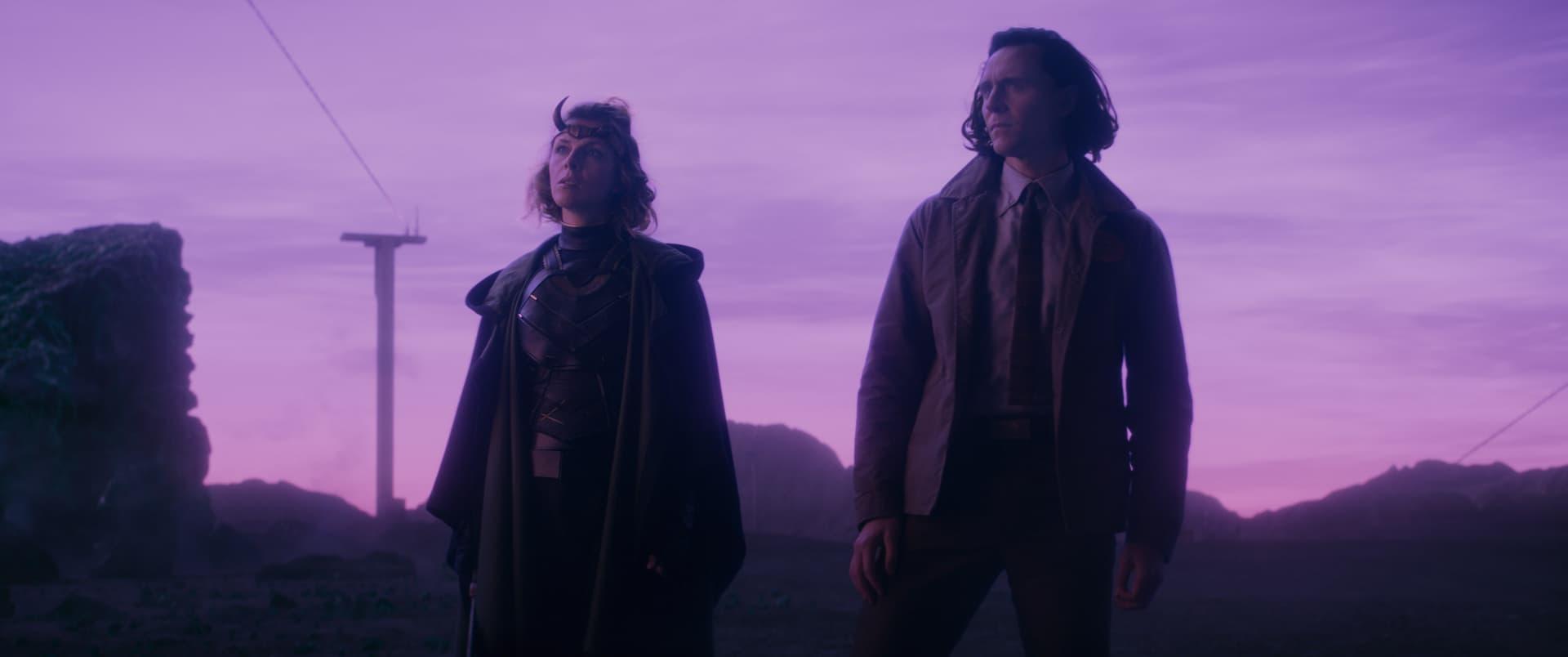 Loki and Sylvie