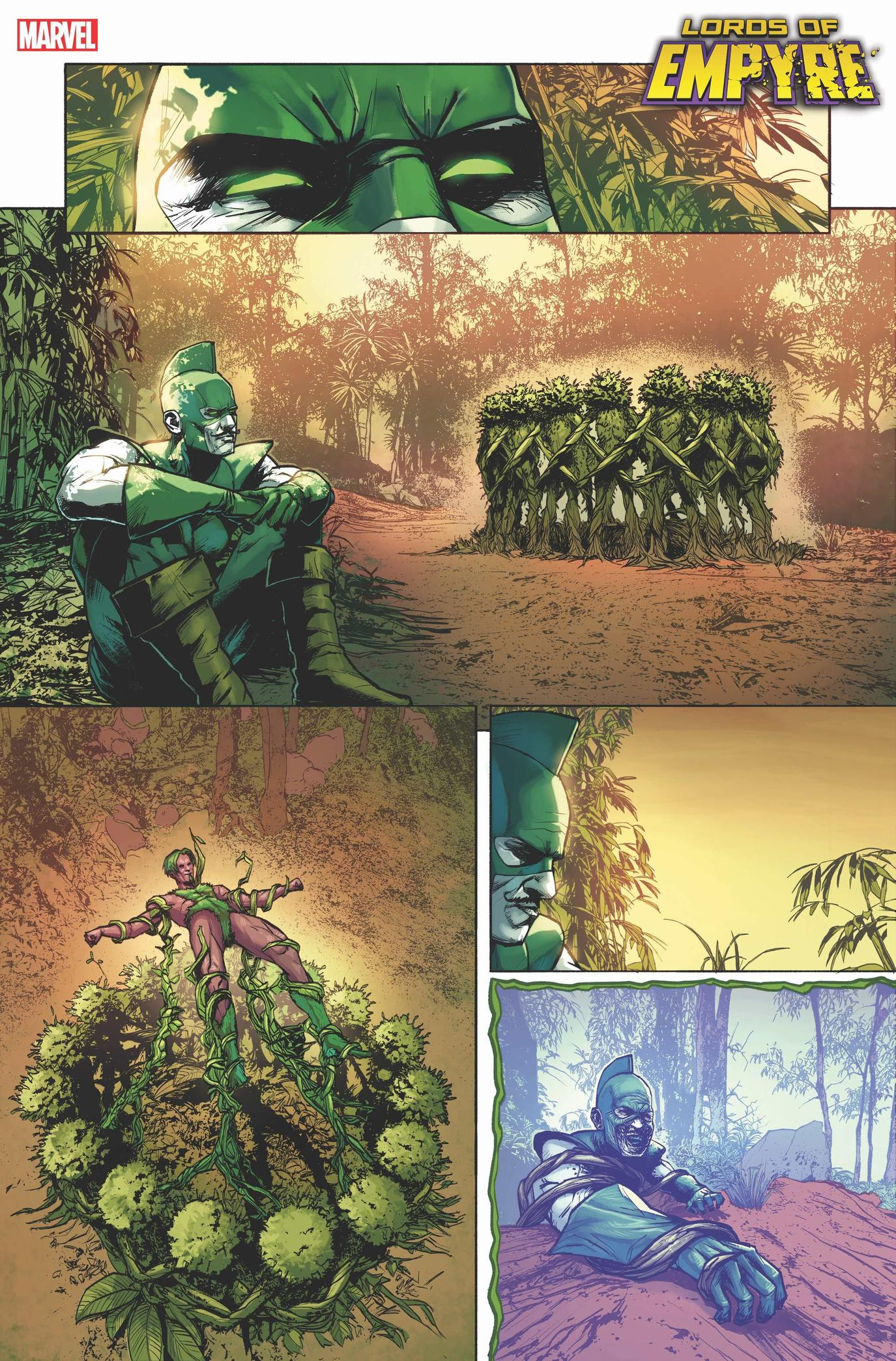 LORDS OF EMPYRE: SWORDSMAN #1 preview interiors by Thomas Nachlik with colors by Marcio Menyz