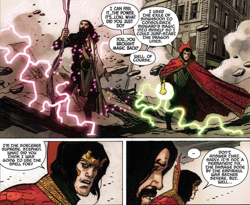 Loki and Strange