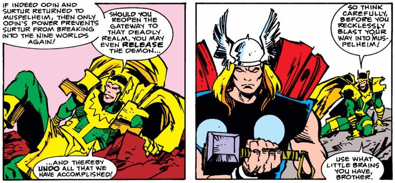 Loki joins Thor