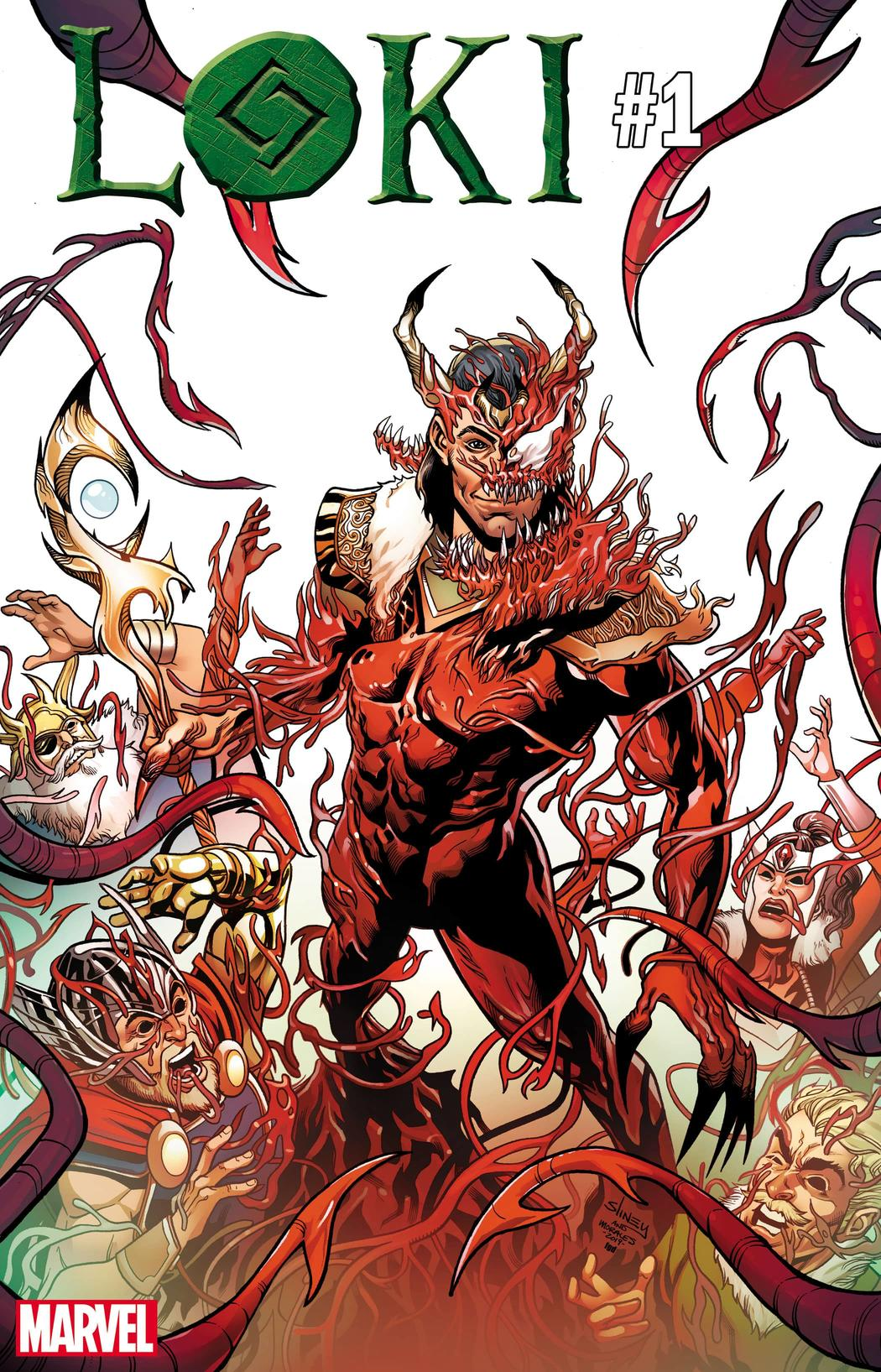 Loki Absolute Carnage variant cover