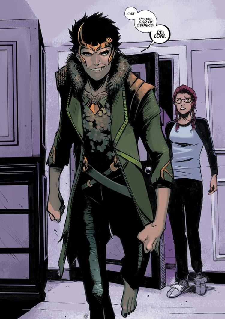Loki declares his new title in LOKI:AGENT OF ASGARD (2014) #13.