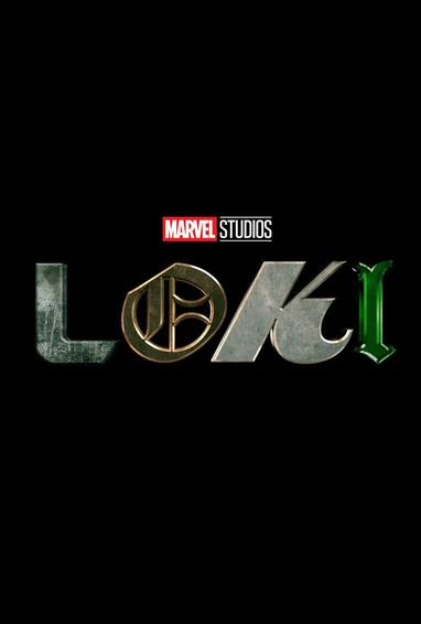 Loki TV Show Season 1 Logo On Black