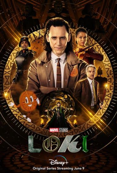 Marvel Studios' Loki Disney Plus TV Show Season 1 Poster