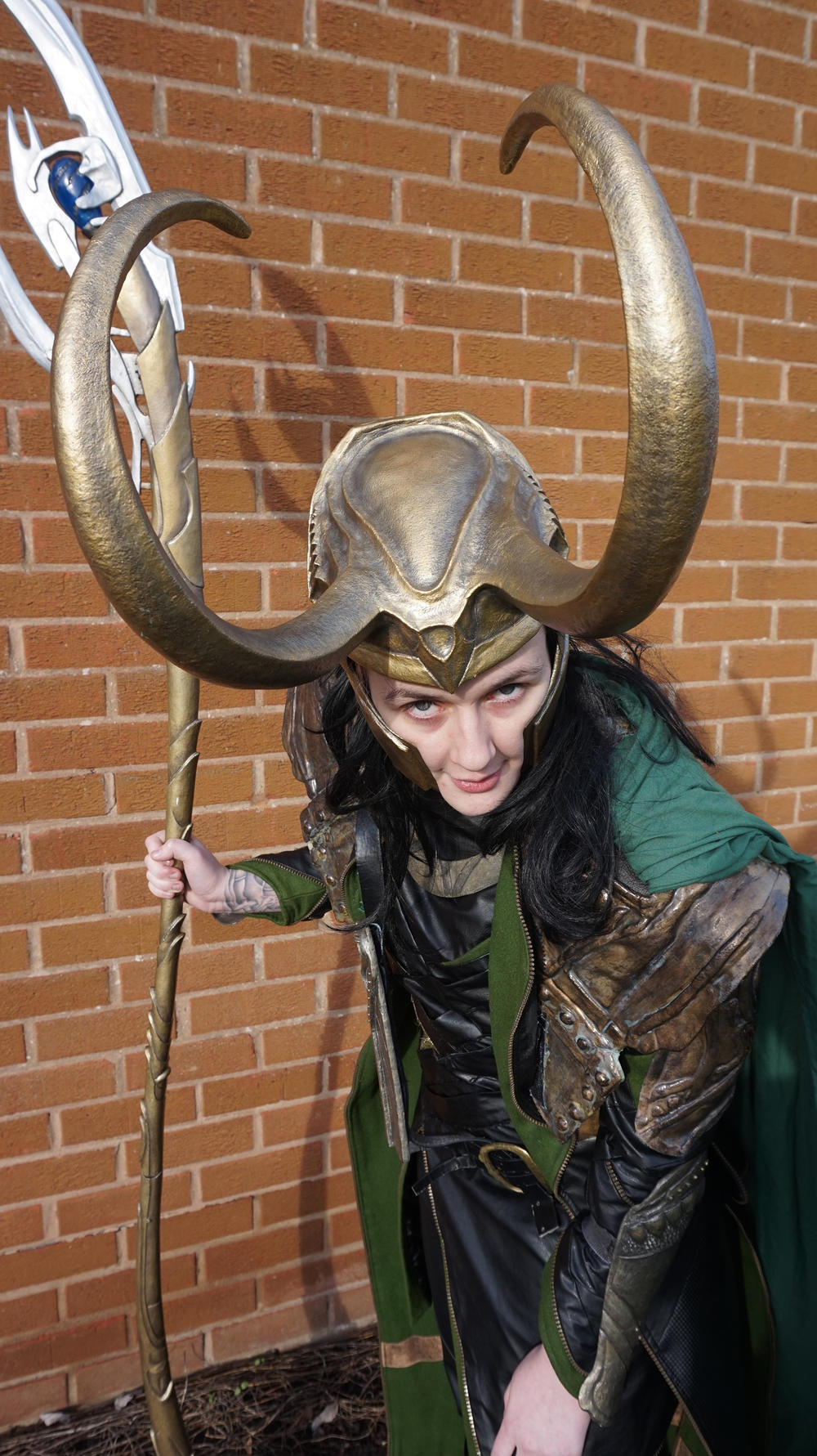 Louis Perring AKA Loki Lou as Loki