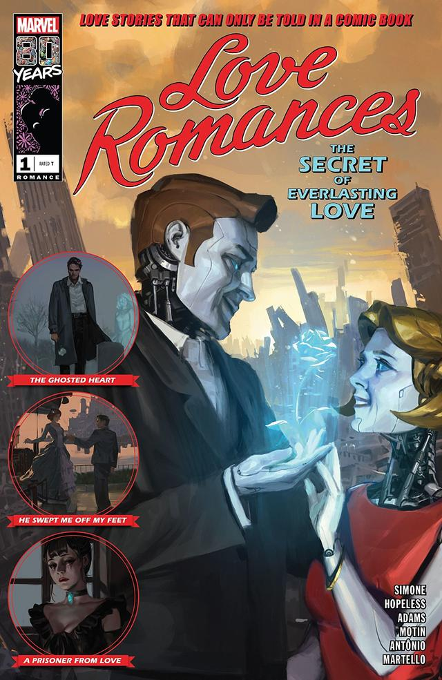 Cover of Love Romances #1