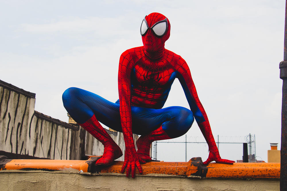 Luis Solivan AKA Latin Nerd Cosplayer as Spider-Man