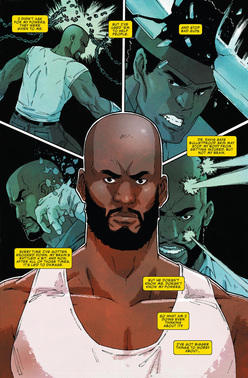 Page from Luke Cage Everyman