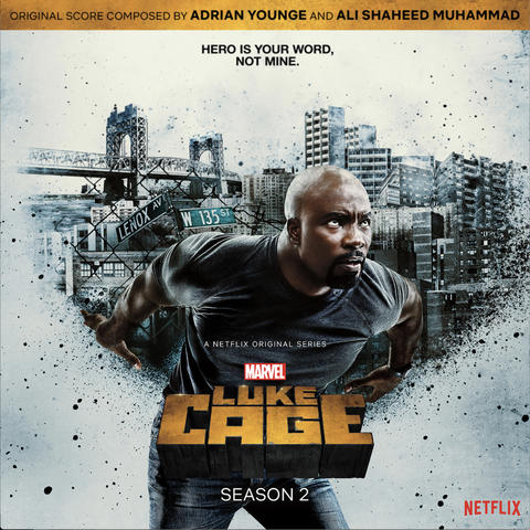 Luke Cage soundtrack cover
