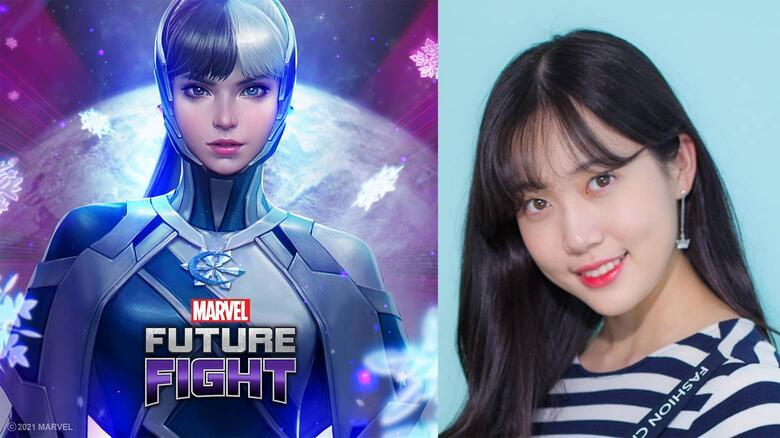 """MARVEL Future Fight Luna Snow """"Fly Away"""" Vocals by MinMin of Busters"""