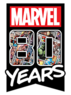 Marvel 80 Years Logo
