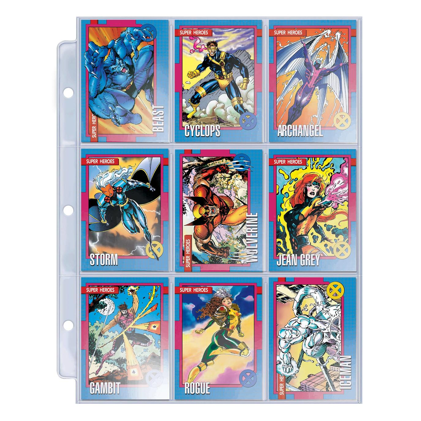 Marvel trading cards X-Men