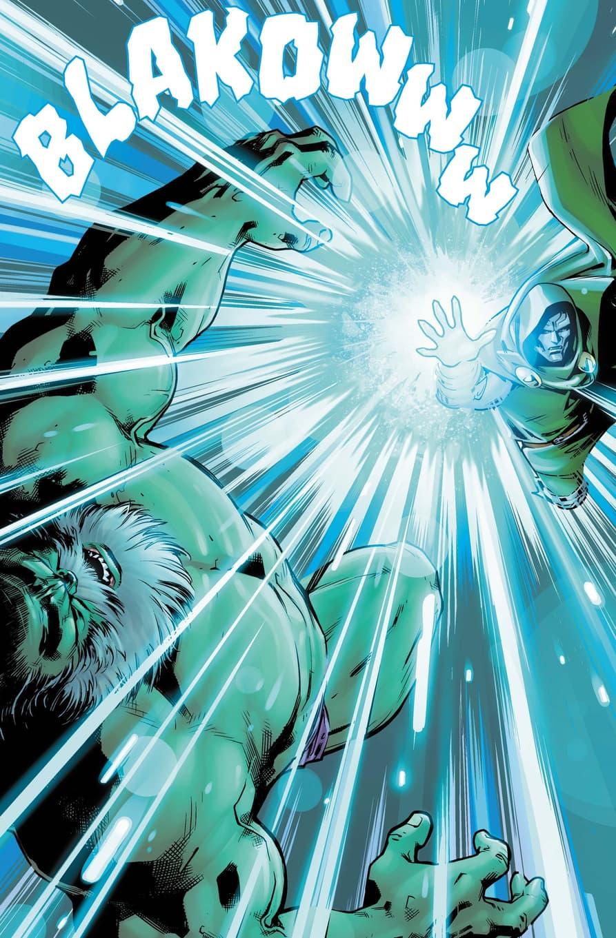 Doctor Doom versus Maestro for the future!